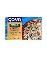 Goya Eelbroods of Surimi in Olive Oil 3.8oz - $8.90