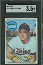 1969 Topps #375 Harmon Killebrew Minnesota Twins HOF SGC 3.5 VG+ - $20.28