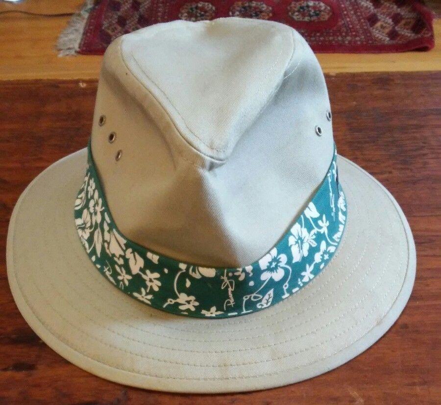 56b0b21b Panama Jack Fedora Safari Hat Khaki Cotton and 50 similar items. S l1600