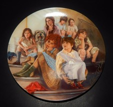 Annie & Orphans Musical William Chamber Bradford Exchange Knowles Plate 1984  - $24.74