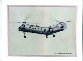 Boeing Vertol Print of Piasecki NAVY HUP Helicopter by S Cutuli - $21.75