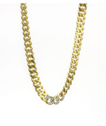 Tiffany & Co. 14k Yellow Gold Curb Chain Necklace with Diamonds - $9,667.35