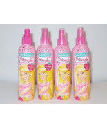 Lot of 4 Barbie Hair Detangler Cotton Candy Sce... - $14.01
