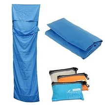 Compact Sleep Sheet with Lightweight Carry Bag for Travel