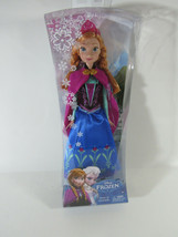 Disney Frozen Anna of Arendelle 12 in. Doll with Blue Dress & Tiara  - $23.75