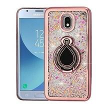 Rose Gold/Iris Hybrid Case Cover for SAMSUNG Galaxy J3 V 2018/Star/Achieve - $11.07