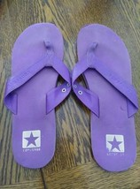 Converse Purple Flip Flop Sandals Size 9.5 - $10.00