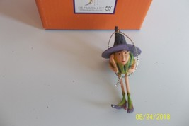 Krinkles Halloween Mini Ornament Patience Brewster Dept. 56 Gourd Witch - ₨838.99 INR