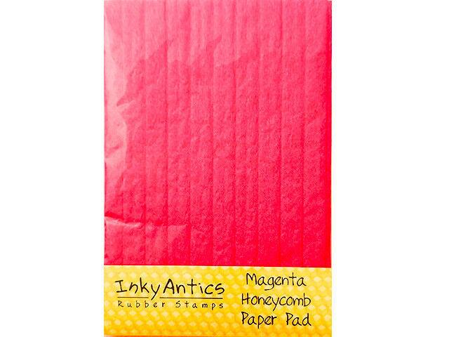 Inky Antics Magenta Honeycomb Paper Pad #HCP-MGN