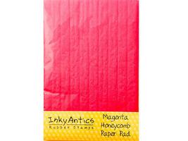 Inky Antics Magenta Honeycomb Paper Pad #HCP-MGN image 1