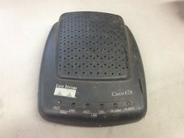 Cisco 678 Router No Power Cord Included Untested - $15.00