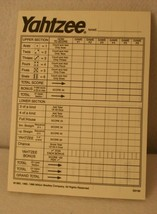 Yahtzee 40th Anniversary Collectors Edition Game Score Pad ONLY Replacement - $19.95