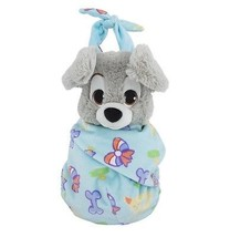 Disney Parks Baby Scamp in a Blanket Pouch Plush New with Tags - £28.32 GBP