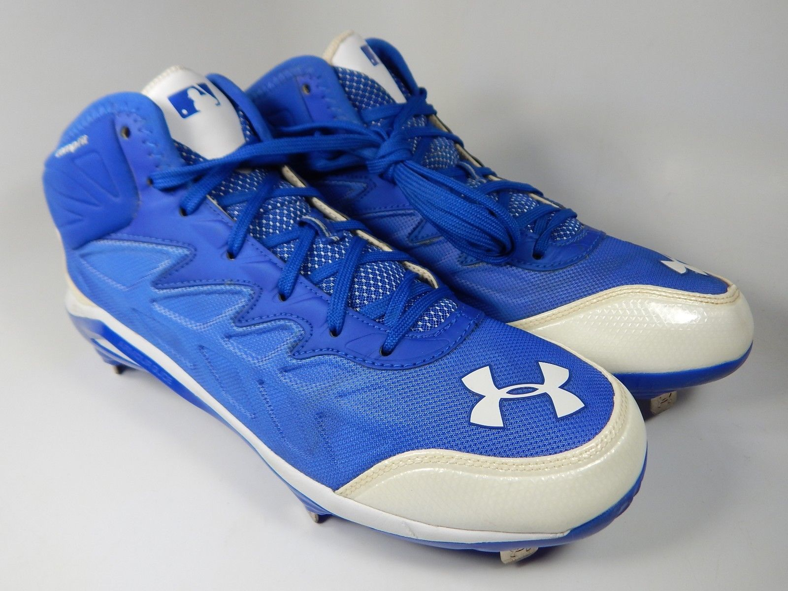 Under Armour Heater ST Mid Top Size 11 M EU 45 Metal Baseball Cleats 1248197-411