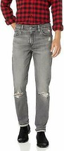 Levi's Strauss 511 Men's Destroyed Distressed Slim Fit Stretch Jeans Lionsmane image 1