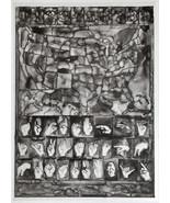 Jasper Johns Maps Numbers 2013 lithograph on vellum pristine JKLFA.com - $1,485.00