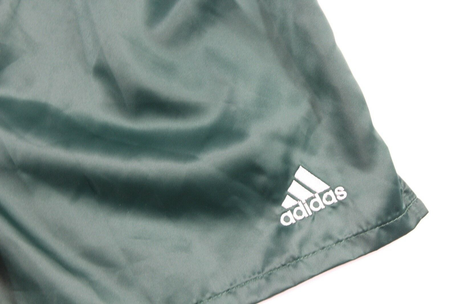 Vintage 90s Neuf Adidas Homme Petit Sort Out Football Gym Jogging Short Vert