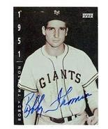 Bobby Thomson autographed baseball card (New York Giants) 1994 Upper Dec... - $22.00