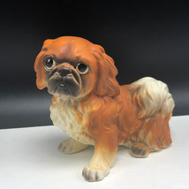 Pekingese Figurine Sculpture Statue Decor Porcelain Puppy Dog Josef Originals - $27.72