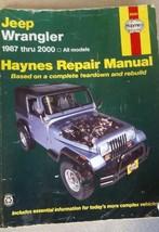Jeep Wrangler 1987 thru 2000 - All Models (Hayn... - $15.68