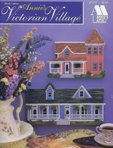 Victorian Village Plastic Canvas Pattern/INSTRUCTIONS Booklet by Annie's... - $13.47