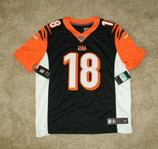 Nike Mens 100th Home Limited Jersey Cincinnati Bengals A.J. Green #18 Sz... - $96.74