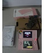 FULLY TESTED Original Nintendo DS Lite Pink Handheld System With Origina... - $67.31