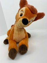 """BAMBI Disney Store Exclusive Laying Down 14"""" Long Plush Toy Stuffed Auth... - $8.42"""