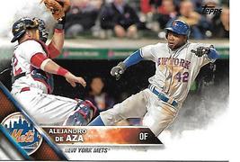 Baseball Card- Alejandro DeAza 2016 Topps Update #US238 - $1.00