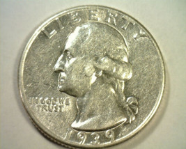 1939 WASHINGTON QUARTER ABOUT UNCIRCULATED+ AU+ NICE ORIGINAL COIN BOBS ... - $13.00