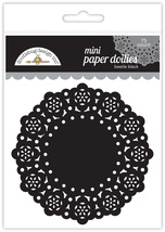 "MINI Paper Doilies.  75 Pack. 3""  Choose Color. Doodlebug Designs image 10"