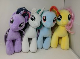 Build a Bear My Little Pony Friendship is Magic Large Plush Lot of 4 VTG - $39.59