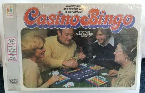 VTG Casino Bingo Milton Bradley 1978 Board Game Brand New Sealed in Box MB 4819
