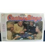 VTG Casino Bingo Milton Bradley 1978 Board Game Brand New Sealed in Box ... - $49.38