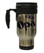 "Grand Aliases Series Grandfather ""A.K.A. Opa"" 12 Ounce Hot/ Cold Travel ... - $17.77"