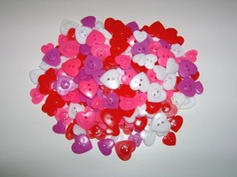 60 Pc Easter Easter Spring Scatter Heart Button Bowl Fill Only - $4.99