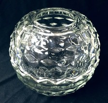 FOSTORIA ELEGANT GLASS AMERICAN 2-PC FAIRY LIGHT CANDLE HOLDER - $30.00