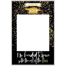 With The Stars Class of 2018 Graduation Social Media Selfie Frame Poster - £12.72 GBP