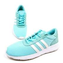 Adidas Womens 10 Sneakers Shoes Turquoise CG5926 Trainers Low Top Mesh L... - $33.53 CAD