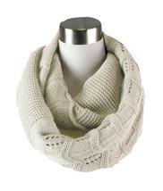 Chevron Knit Infinity Scarf - £8.43 GBP