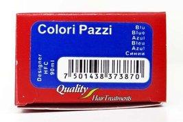 Tec Italy Designer Color, Colori Pazzi Blue Haircolor 3 oz - $9.01