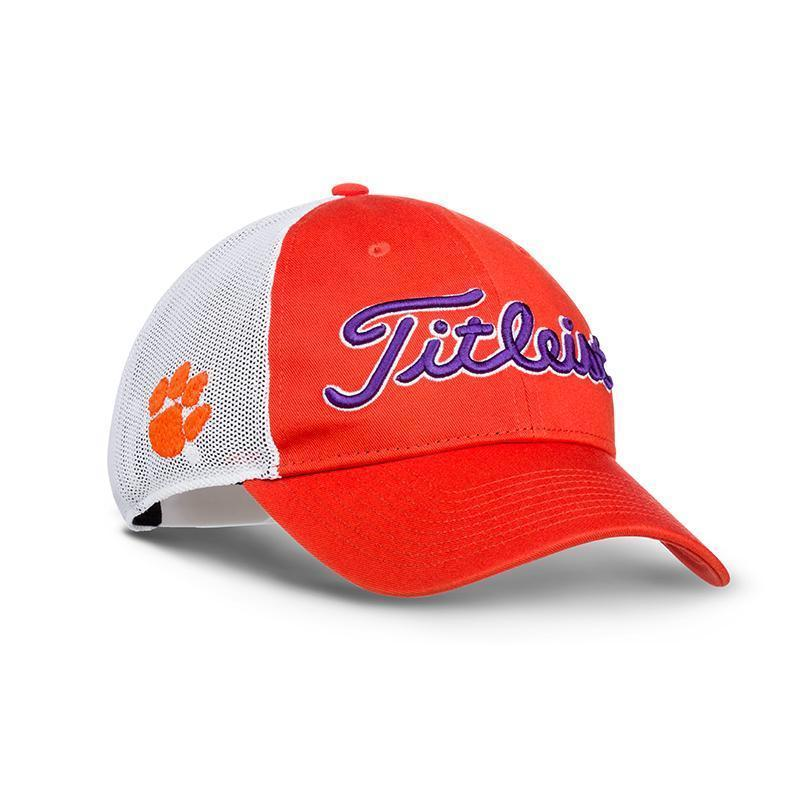 0550f448d6d Titleist Collegiate Mesh Adjustable Hat - National Champions Clemson  University -  29.65