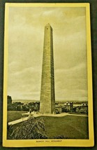 Antique Singer Sewing Co. Trade Card  'Boston - Bunker Hill Monument' (B-1) - $14.99