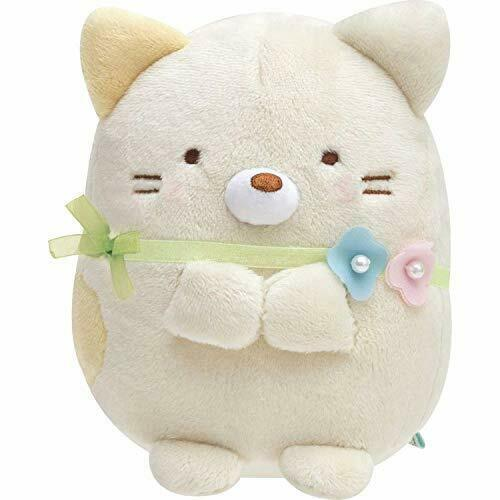Rilakkuma Cherry Blossoms Mascot Key Chain Plush Toy San-X from Japan*