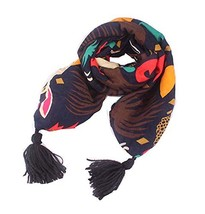 Winter New Baby Scarf Fashion Tassels Scarf, Rabbits image 2