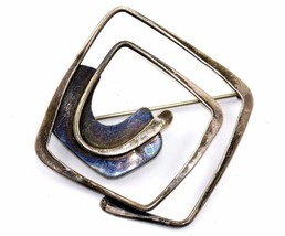 Art Smith Mid Century Vintage Sterling Silver Modernist Brooch Pin BB 6 - $999.99