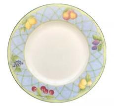 Mikasa Optima Fruit Rapture Super Strong China Salad Plate Lemons Cherri... - $20.54