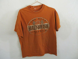 Harley Davidson Butte Montana Copper Canyon Large short Sleeve T-shirt  - $13.37