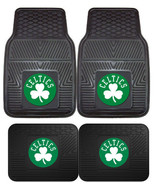 Boston Celtics Car Mats 2Pc or 4Pc Front & Rear Heavy Duty Vinyl - $37.99+