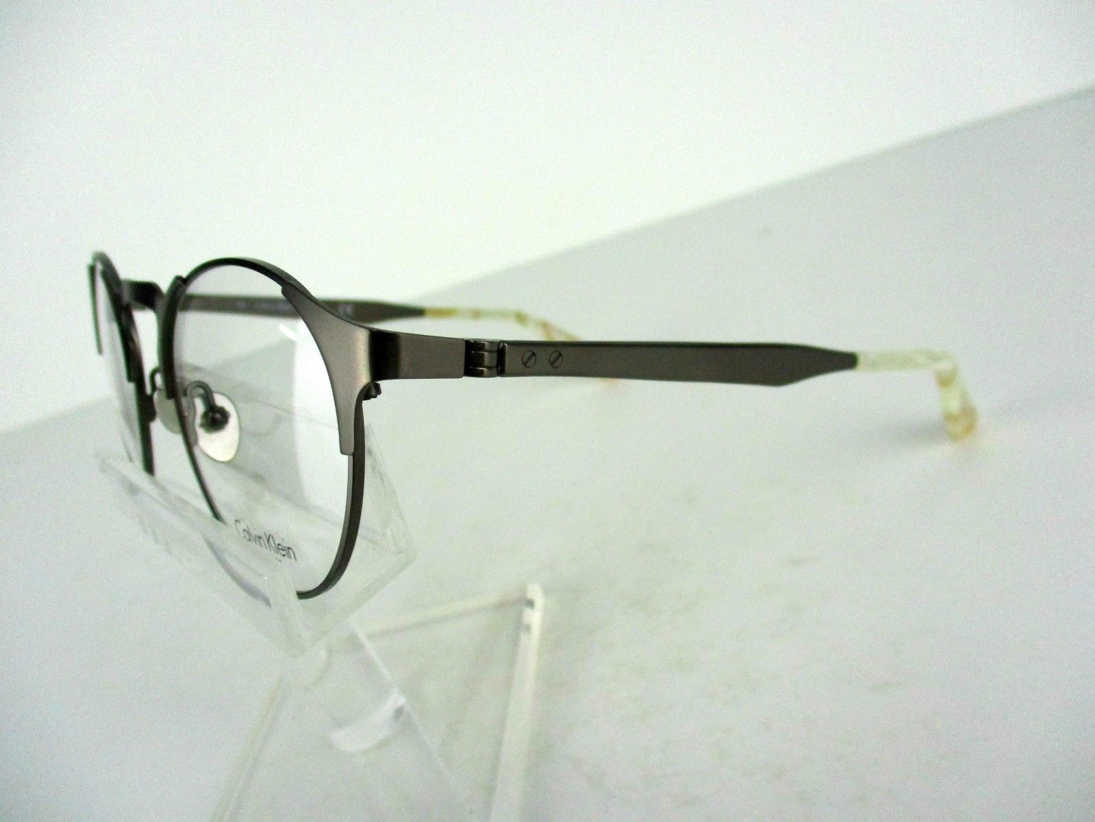 Calvin Klein Ck 8042 (015) Grey Satin 49 X 21 140 mm Eyeglass Frame